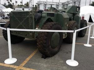 Autonomous armored vehicle