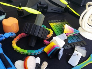 New multicolored 3D printing technology