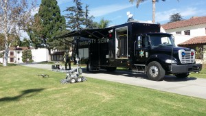 Sheriff's Department Search and Rescue and Bomb Squad