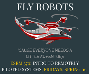 ESRM 370 Flyer Sp2016 Ad#2