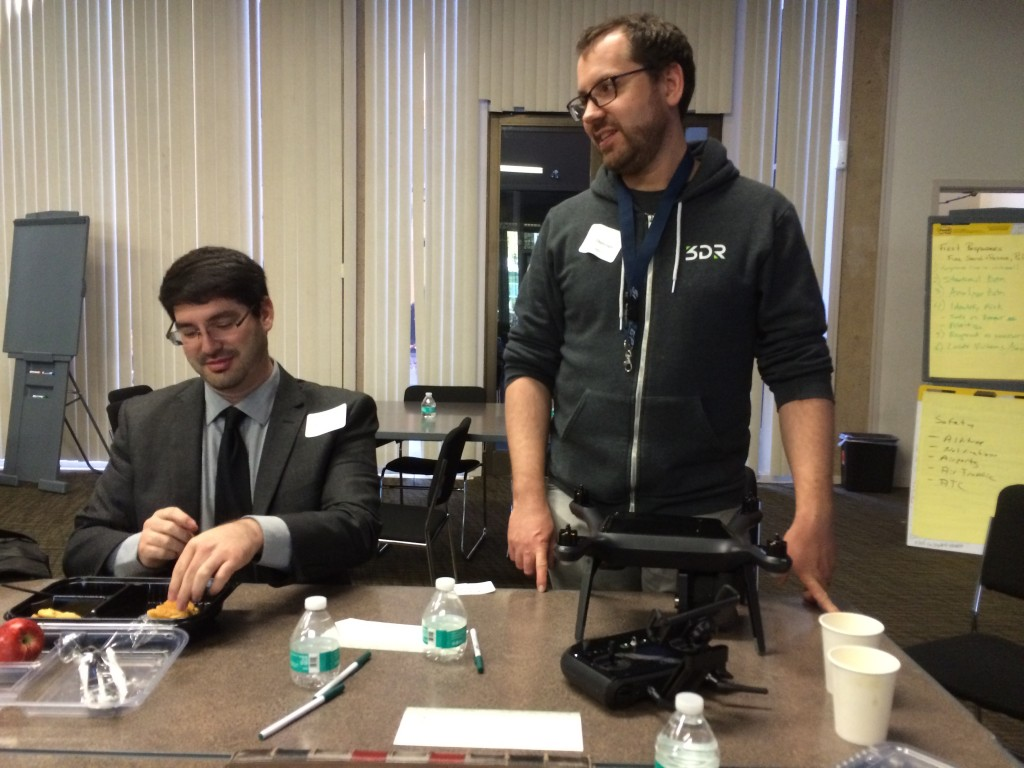 Brandon Stark UCM & Greg Crutsinger 3DR Drone Ed Conference 02-06-16