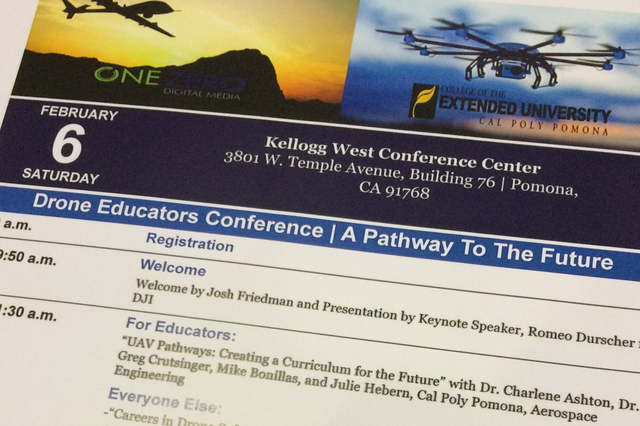 Drone Ed Conference