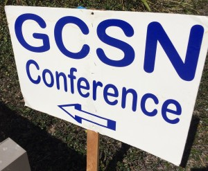 GCSN Conference Sign