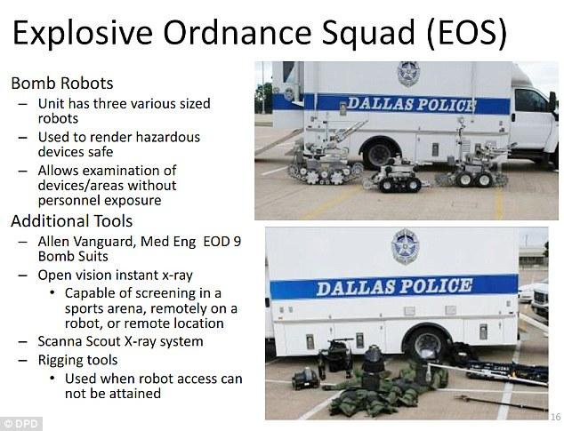 Slide: Dallas Police Department.
