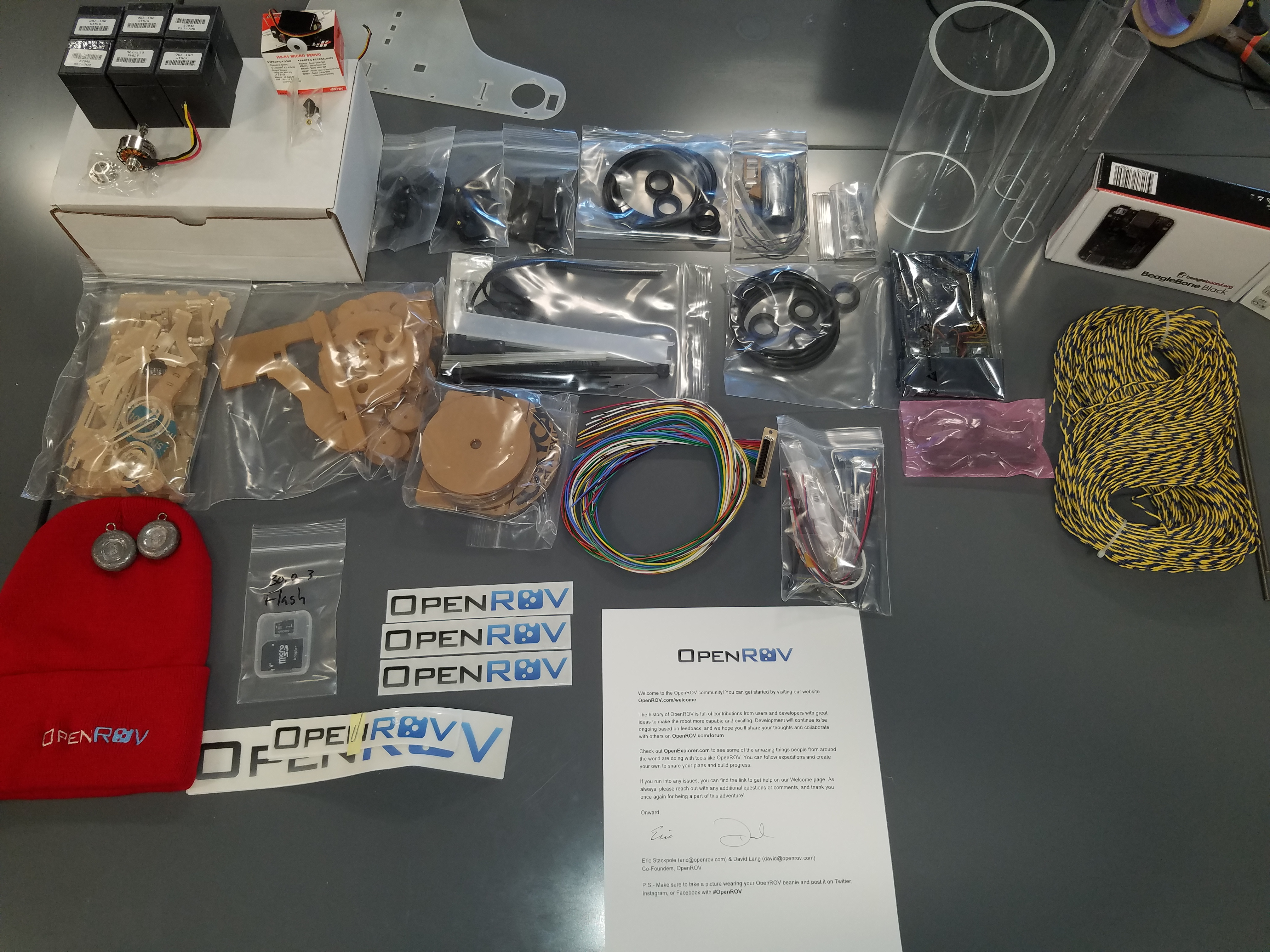 OpenROV 2.8 Build Started!